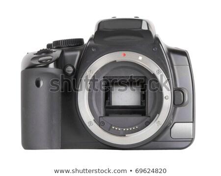 professional dslr camera body without lenses isolated stock photo © arsgera