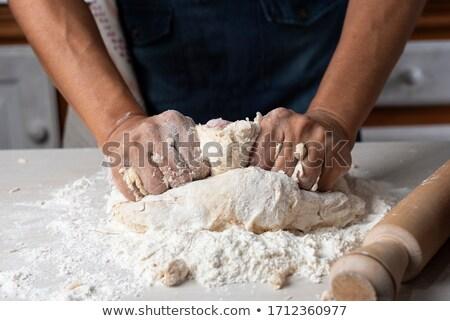 Pék sütés kenyér étel természet egészség Stock fotó © photography33
