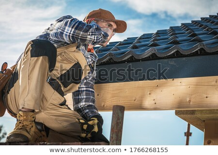 craftsman talking on the phone Stock photo © photography33