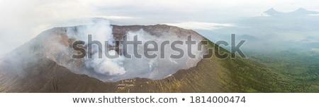 virunga mountains aerial view stock photo © prill