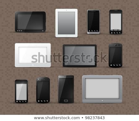 Verschillend modellen smart telefoons algemeen tablet Stockfoto © involvedchannel
