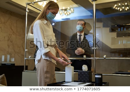 Experienced receptionist Stock photo © photography33