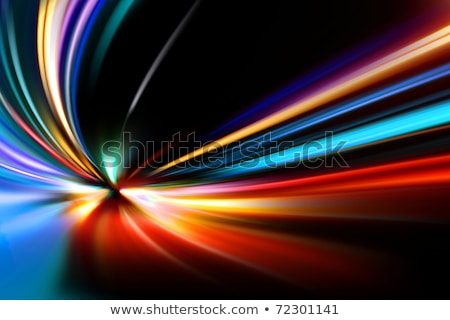 abstract · nacht · versnelling · snelheid · beweging · auto - stockfoto © redpixel
