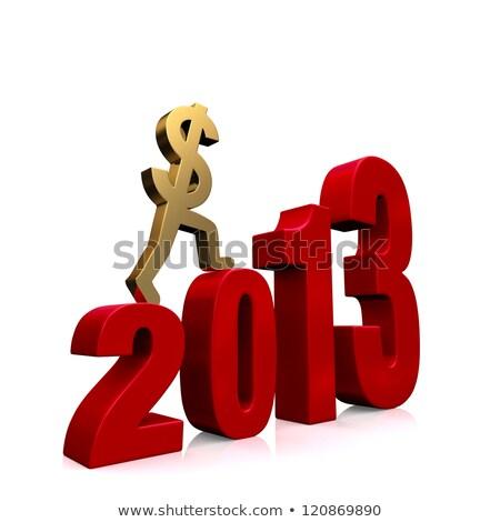 2013 · monétaire · prévision · Finance · succès - photo stock © 3mc