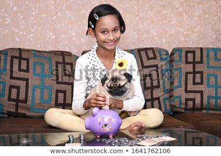 little dog moneybox Stock photo © Marcogovel