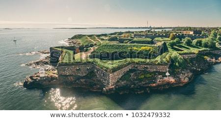 крепость Хельсинки Финляндия воды здании город Сток-фото © Alenmax