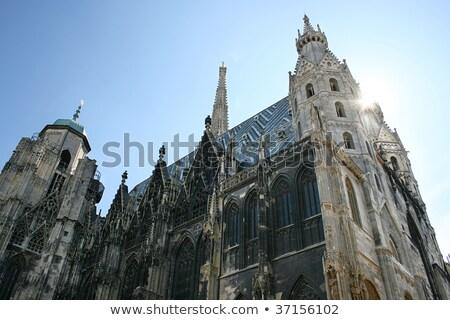 St. Stephen Cathedral spire in Vienna, Austria Stock photo © AndreyKr
