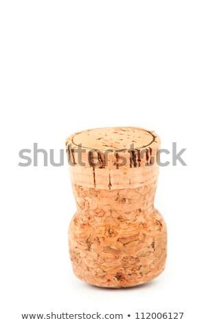 Kurk ondersteboven witte partij champagne Stockfoto © wavebreak_media
