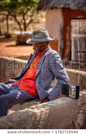 Man listening to the world Stock photo © photography33