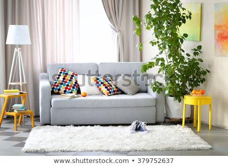 Cristal maison vert construction modèle maison Photo stock © sqback