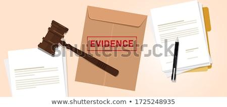 Soruşturma bilgi yeşil ok slogan gri Stok fotoğraf © tashatuvango