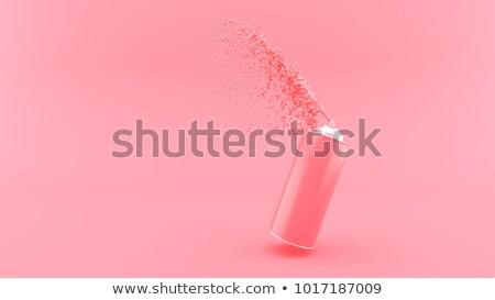 Rosa spray può isolato bianco sfondo Foto d'archivio © gavran333