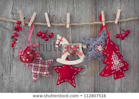 Navidad · frontera · regalos · imagen · ilustración · tarjeta · de · felicitación - foto stock © mady70