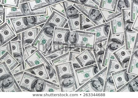 Cien dinero financieros verde Foto stock © stevanovicigor