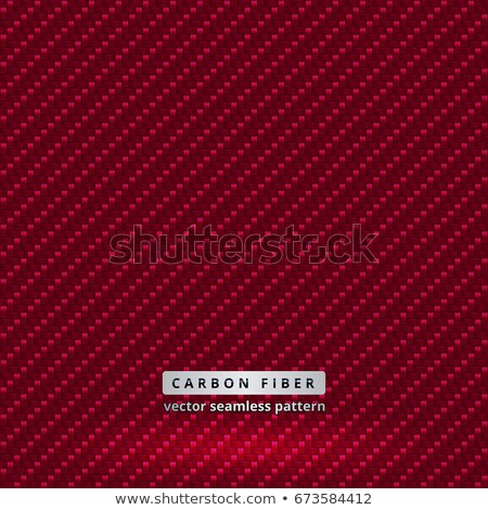 red carbon metallic seamless pattern design background texture Stock photo © alexmillos