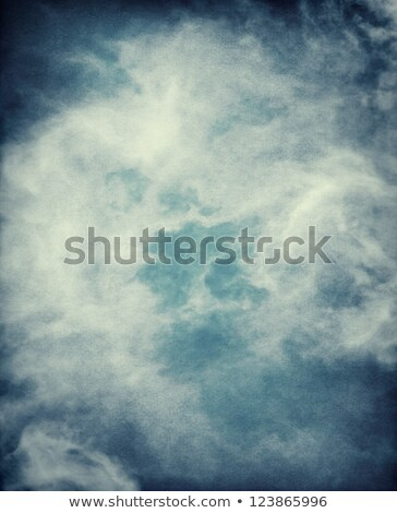 Névoa tempestade atravessar branco lavar para cima Foto stock © rghenry