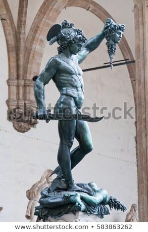 Sculpture Perseus Medusa Stock photo © w20er