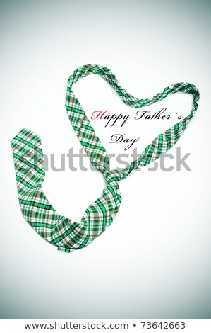 necktie and sentence happy fathers day Stock photo © nito