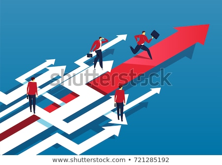 Finding the Path to Success Stock photo © retrostar