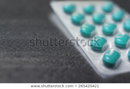 Stock fotó: Hólyag · csomag · gyógyszer · tabletták · közelkép · ipar