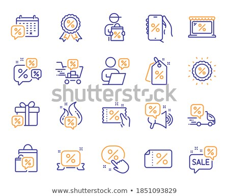 Stock photo: Tagged people