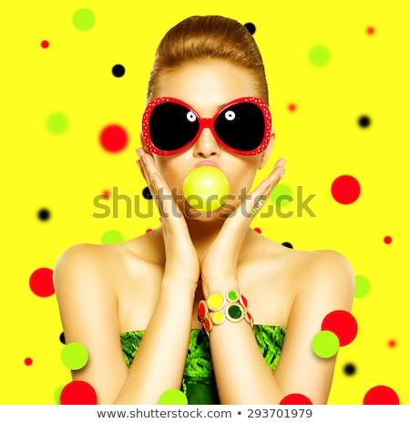 Mano pulsera goma bebé de moda fondo Foto stock © sharpner