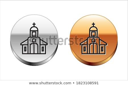 heykel · İsa · Mesih · kilise · çapraz - stok fotoğraf © jarin13