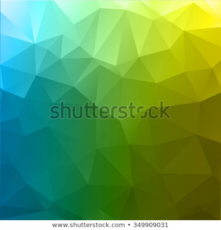 muschio · verde · abstract · basso · poligono · stile - foto d'archivio © mcherevan