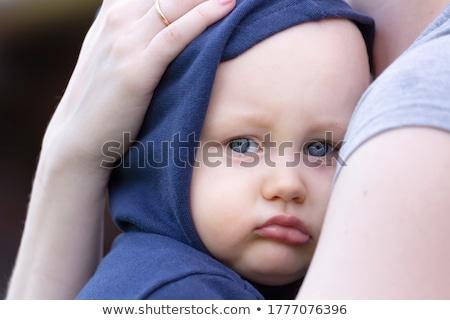 Anne erkek portre genç kadın oğul Stok fotoğraf © vkraskouski