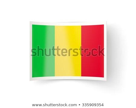 икона флаг Мали изолированный белый стране Сток-фото © MikhailMishchenko