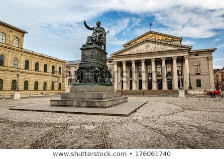 Színház München tér Németország épület város Stock fotó © vladacanon