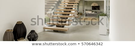 Staircase in a modern house stock photo © jrstock