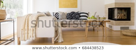 confortável · canto · quarto · mobiliário · casa - foto stock © jrstock