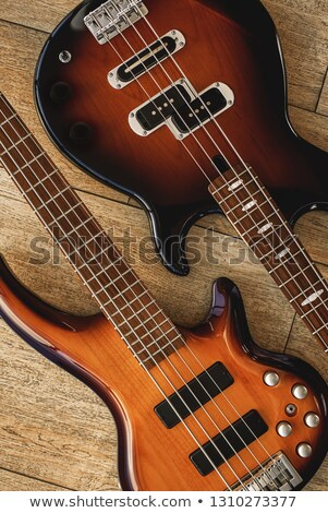 Different instruments and wooden chips on floor Stock photo © asturianu