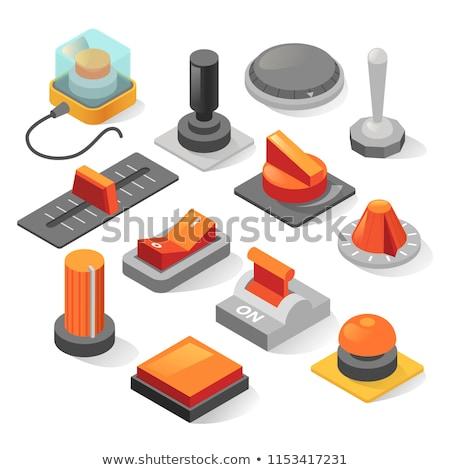 Isométrica mudar computador rede cabo comunicação Foto stock © ridjam