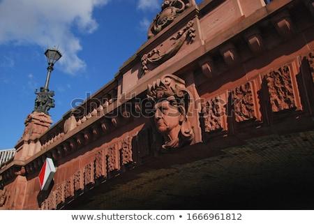 detail of Moltke Bridge in Berlin Stock photo © meinzahn
