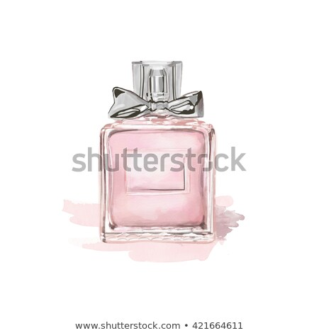 A bottle of pink ink Stock photo © bluering