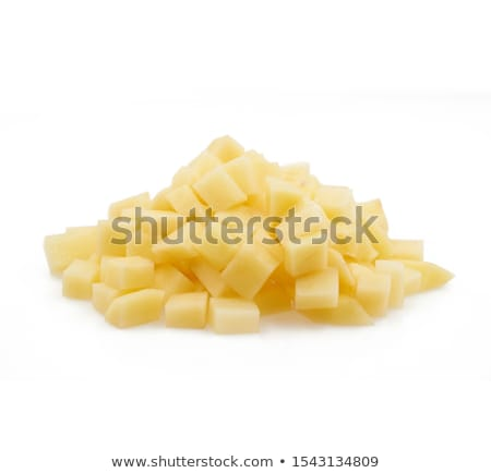 raw diced potatoes stock photo © digifoodstock