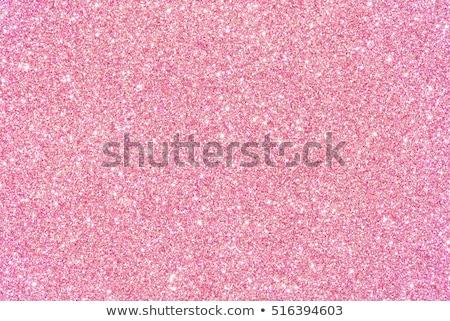 Rosa brillo establecer vector blanco textura Foto stock © fresh_5265954