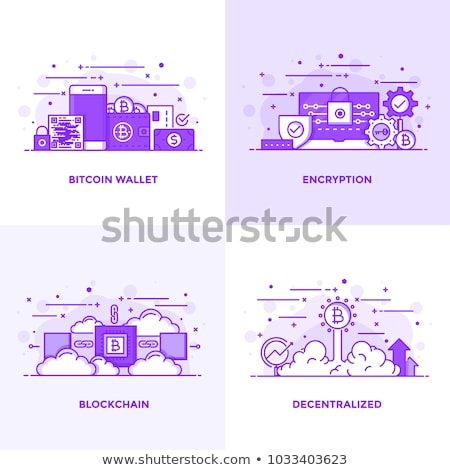modern flat digital wallet security concept stock photo © wad
