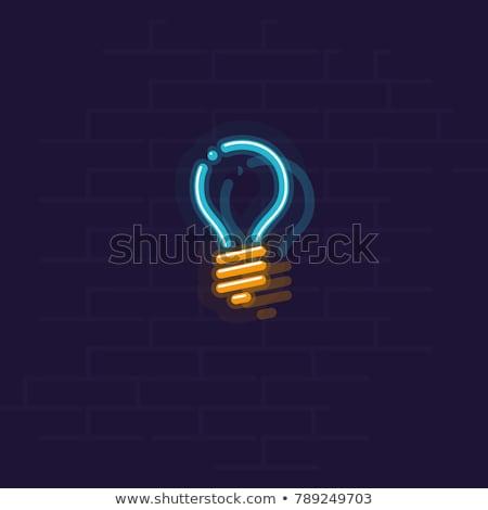 solução · palavra · mão · azul · quebra-cabeça - foto stock © 72soul