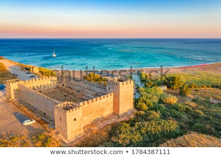 Frangokastello fortress in Crete. Landmarks of Greece Stock photo © Freesurf