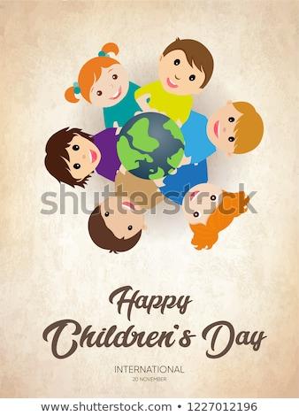 20 november Childrens Day Stock photo © Olena