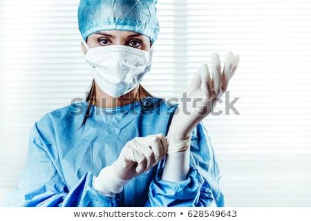 vrouwelijke · arts · ziekenhuis · business · gelukkig · werk - stockfoto © stevanovicigor