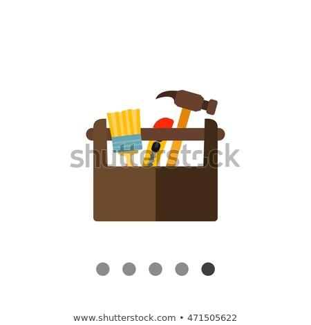 icon · vector · geïsoleerd · witte - stockfoto © biv