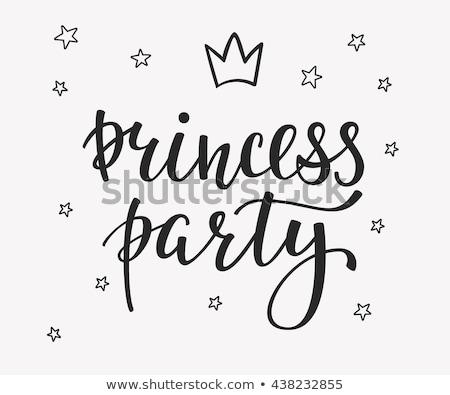 Principessa party doccia compleanno Foto d'archivio © mcherevan
