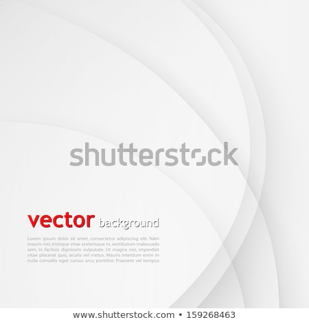 Stockfoto: Abstract Curved Wave Colorful Lines Background With The Empty Sp
