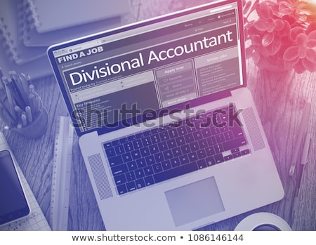 We Hiring Divisional Accountant. 3D. Stock photo © tashatuvango