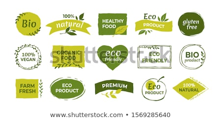 Farm Elements Illustration Stock photo © lenm