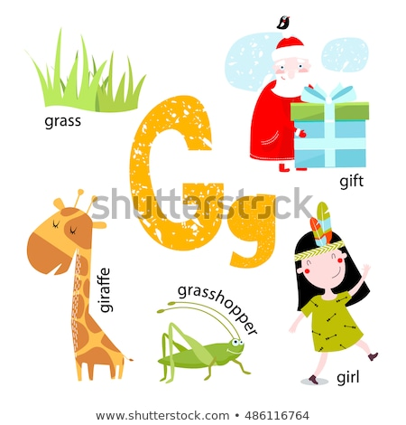 Spell it out grasshopper Stock photo © bluering